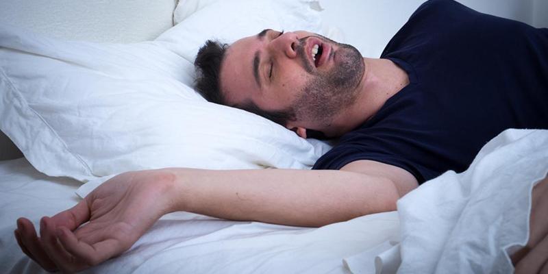 نحوه نفس کشیدن در طول خواب